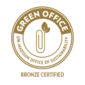 Bronze Certified as a Green Office by the UW-Madison Office of Sustainability